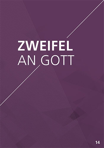 Themenflyer Freikirche Nr. 14 | Zweifel an Gott | 50er Pack