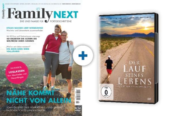 FamilyNEXT + DVD: Der Lauf seines Lebens