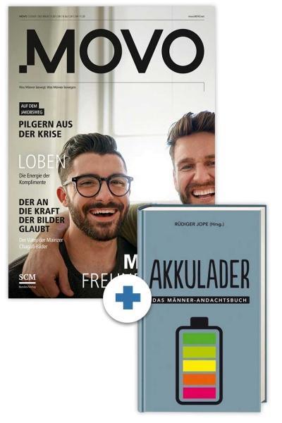 "MOVO + Andachtsbuch ""Akkulader"""