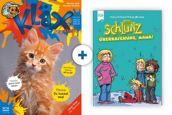 KLÄX + Schlunz-Comic: Überraschung, Mama!