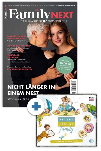 """FamilyNEXT + CD """"Feiert Jesus! Family"""""""