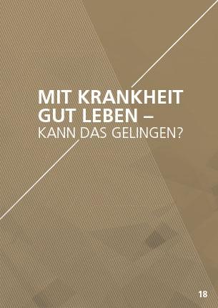 Themenflyer Freikirche Nr. 18 | Mit Krankheit gut leben - Kann das gelingen? | 50er Pack
