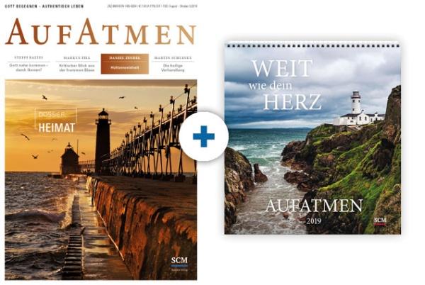 AUFATMEN + Kalender: AUFATMEN 2019