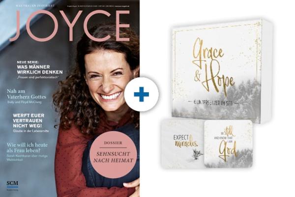 JOYCE + Untersetzer: Grace & Hope