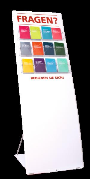 Gemeindeaufsteller Freikirche | Premium | Starter-Set
