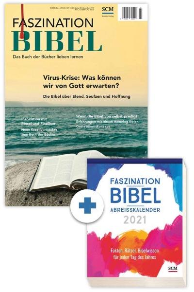 Faszination Bibel + Abreißkalender 2021
