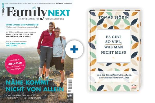 FamilyNEXT + Buch: Es gibt so viel, was man nicht muss