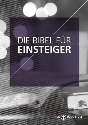 Themenflyer FeG Nr. 19 | Die Bibel für Einsteiger | 50er Pack