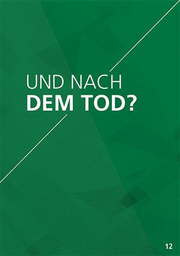 Themenflyer Freikirche Nr. 12 | Und nach dem Tod? | 50er Pack