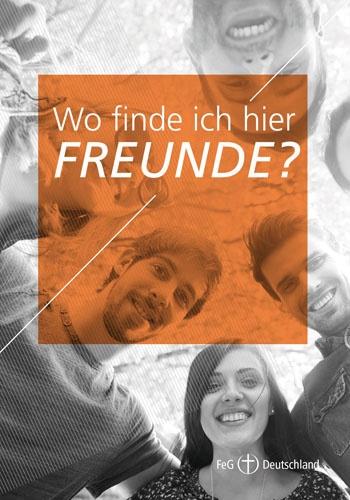 Themenflyer FeG Nr. 10 | Wo finde ich hier Freunde? | 50er Pack