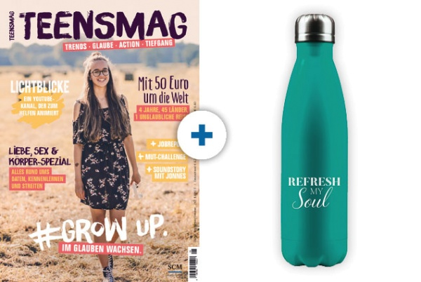 TEENSMAG + Flasche: Refresh my Soul