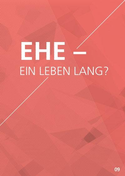 Themenflyer Freikirche Nr. 9 | Ehe - ein Leben lang? | 50er Pack