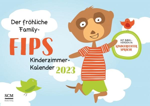 """Family FIPS Verteilkalender 2021 """"Kinderzimmerkalender"""""""