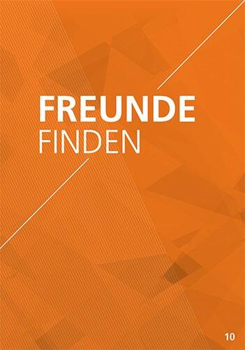 Themenflyer Landeskirche Nr. 10 | Freunde finden | 50er Pack