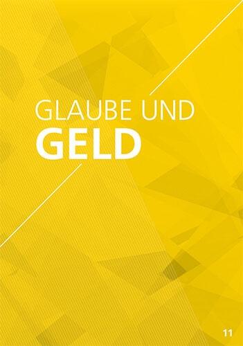 Themenflyer Freikirche Nr. 11 | Glaube und Geld | 50er Pack