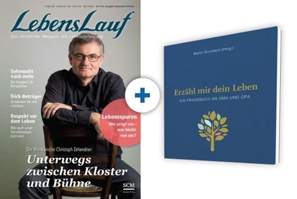 LebensLauf + Buch: Erzähl mir dein Leben - Leinenausgabe