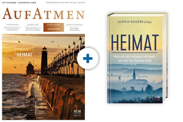 AUFATMEN + Buch: Heimat