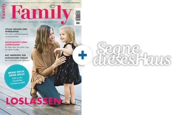 Family + Dekowort: Segne dieses Haus