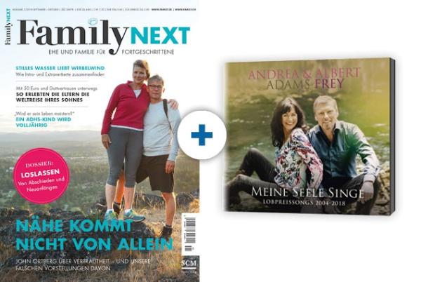 FamilyNEXT + CD: Frey - Meine Seele singe