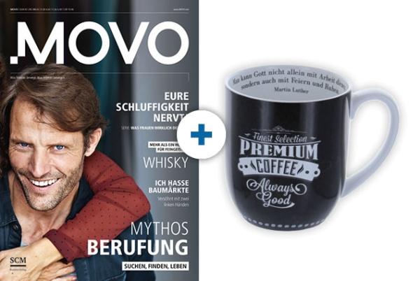 MOVO + Tasse: Arbeit