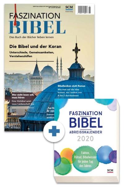 Faszination Bibel + Abreißkalender 2020