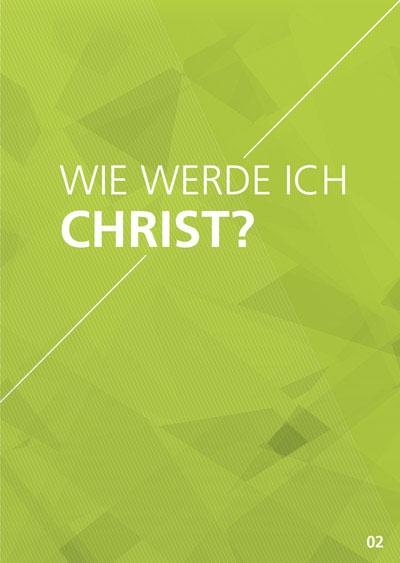 Themenflyer Freikirche Nr. 2 | Wie werde ich Christ? | 50er Pack
