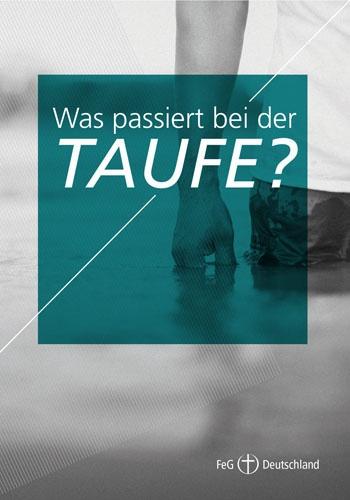 Themenflyer FeG Nr. 3 | Was passiert bei der Taufe? | 50er Pack