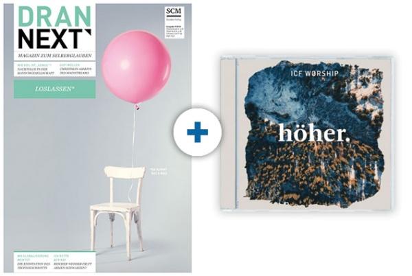 DRAN NEXT + CD: ICF Worship - Höher