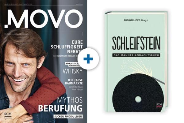 MOVO + Andachtsbuch: Schleifstein