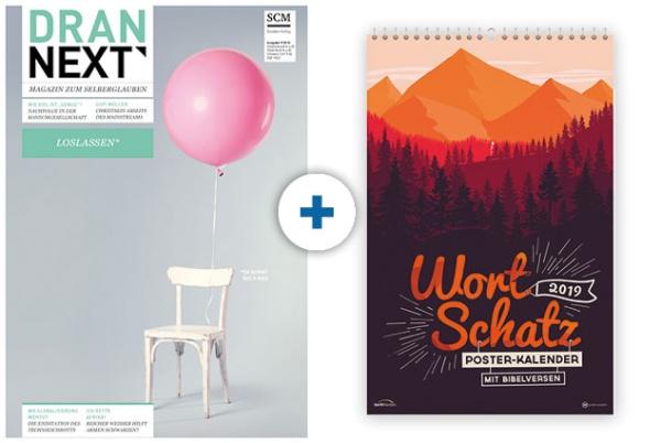DRAN NEXT + Kalender: Wortschatz 2019