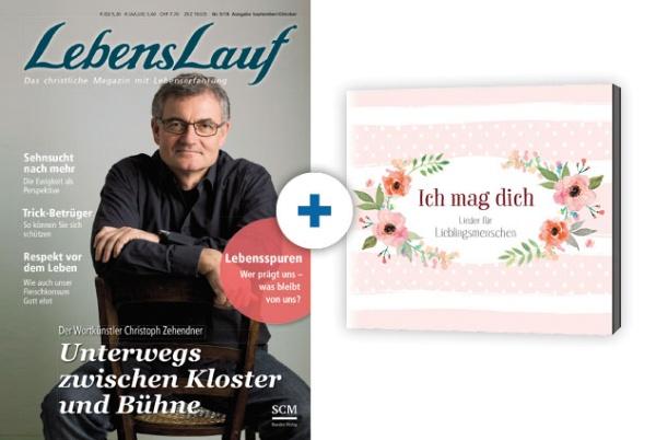LebensLauf + CD: Ich mag dich