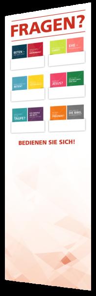 Gemeindeaufsteller Freikirche | Komfort | Starter-Set