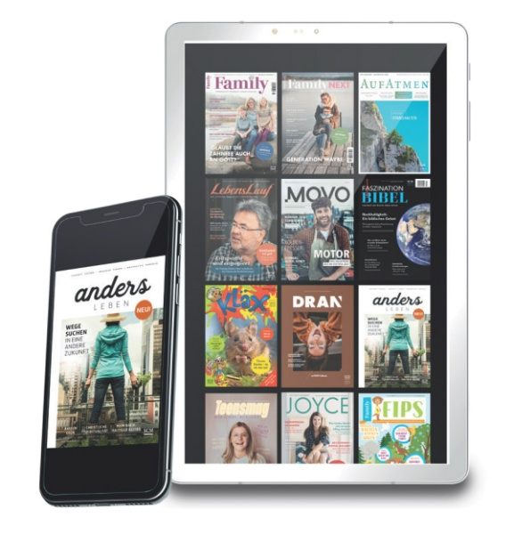 Digitale Edition - 15 Magazine in der App
