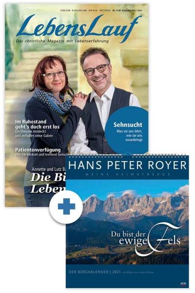 LebensLauf + Bergkalender 2021