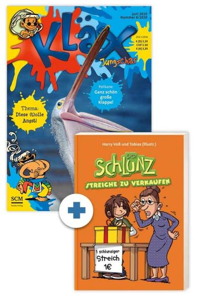 KLÄX + Schlunz-Buch