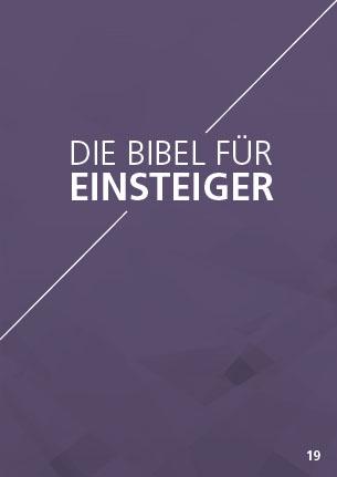 Themenflyer Landeskirche Nr. 19 | Die Bibel für Einsteiger | 50er Pack