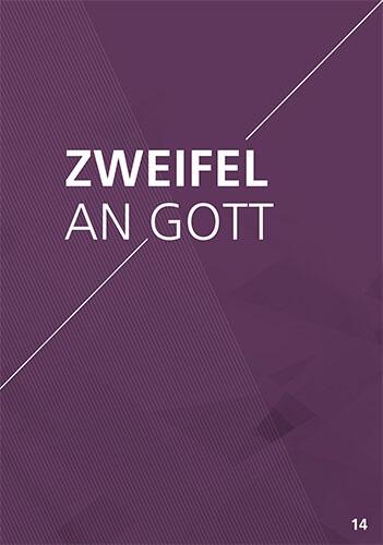 Themenflyer Landeskirche Nr. 14 | Zweifel an Gott | 50er Pack