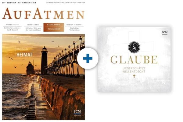 AUFATMEN + CD: Glaube - Das Liederschatz-Projekt