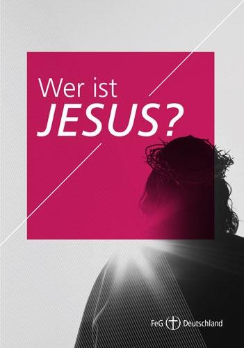 Themenflyer FeG Nr. 1 | Wer ist Jesus? | 50er Pack