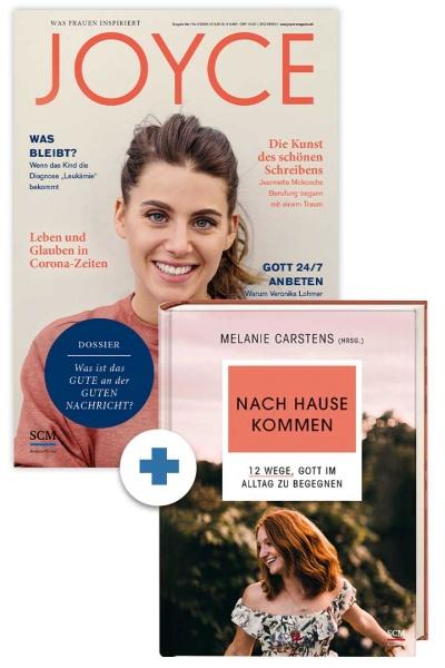 """JOYCE + Buch """"Nach Hause kommen"""""""