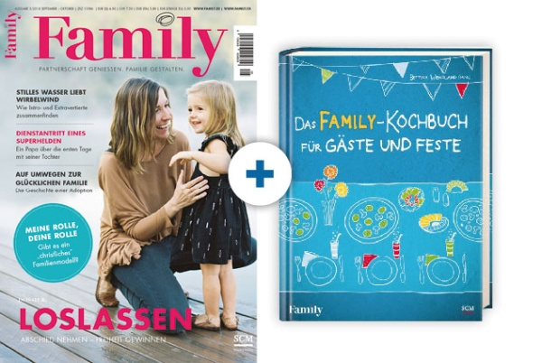 Family + Das FAMILY-Kochbuch für Gäste und Feste