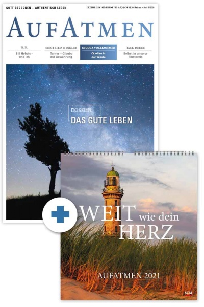 AUFATMEN + Wandkalender 2021