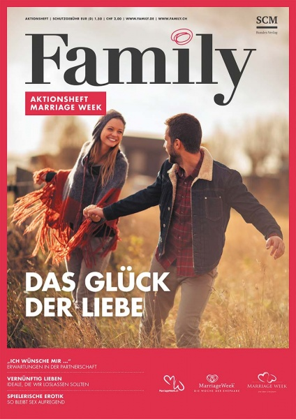 Family MarriageWeek Verteilhefte 5er Pack
