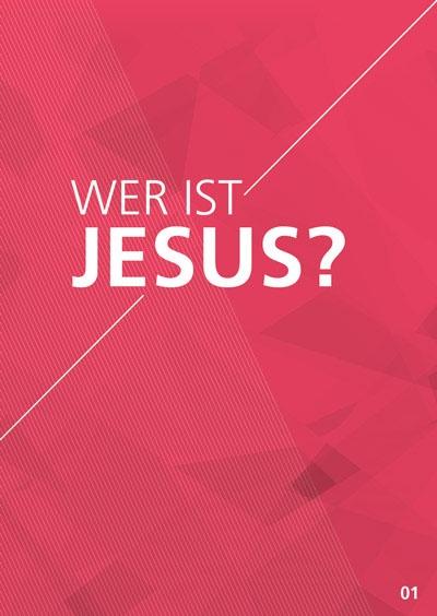 Themenflyer Landeskirche Nr. 1 | Wer ist Jesus? | 50er Pack